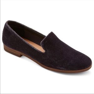 dv Dolce Vita blue velvet velour loafer flats